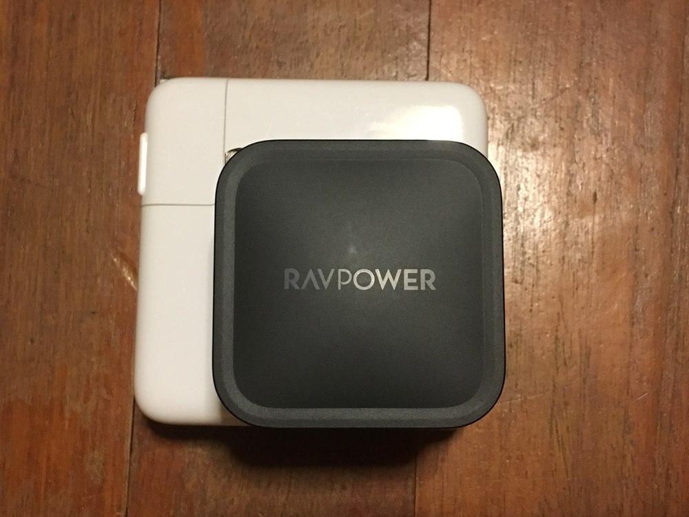 RP-PC112 Mac純正アダプタ 載せて比較